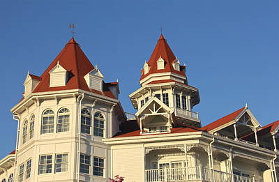 Photograph - Grand Floridian Architecture by Denise Mazzocco