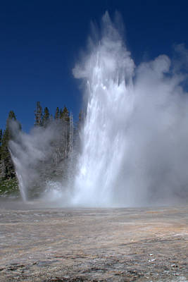 Photograph - Grand Geyser by Brian Harig