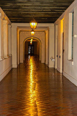 Photograph - Grand Hallway by Robert Hebert