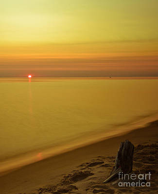Grand Haven Sunset II Art Print