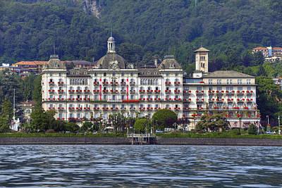 Grand Hotels Photograph - Grand Hotel Des Iles Borromees by Joana Kruse