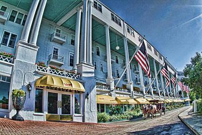 Grand Hotel - Image 001 Art Print