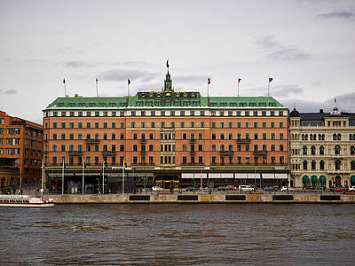 Photograph - Grand Hotel. Stockholm 2014 by Jouko Lehto