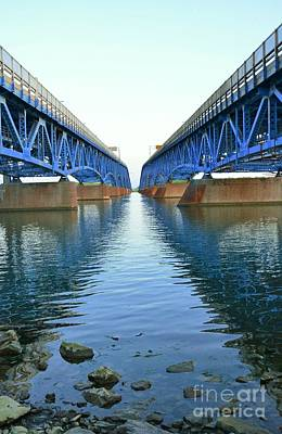 Kathleen Photograph - Grand Island Bridges by Kathleen Struckle