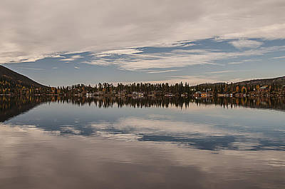 Photograph - Grand Lake Reflection by Lee Kirchhevel