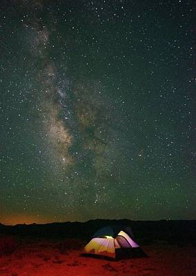 Photograph - Grand Milky Way by Nic Leister