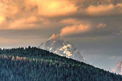Teton Photograph - Grand Morning by David Andersen