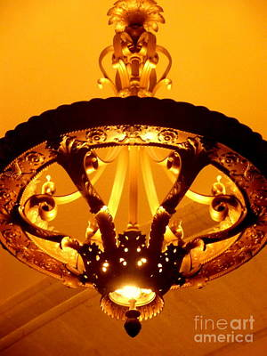 Photograph - Grand Old Lamp - Grand Central Station New York by Miriam Danar
