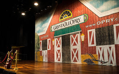 Photograph - Ryman Grand Ole Opry by Glenn DiPaola