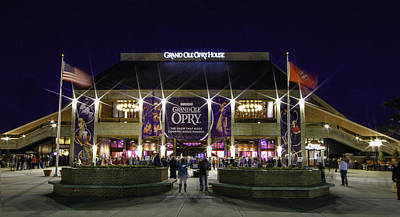 Photograph - Grand Ole Opry by Robert Hebert