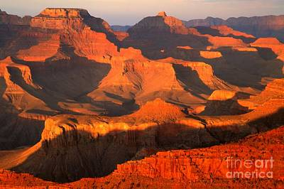 Photograph - Grand Orange Canyon by Adam Jewell