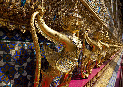 Asia Photograph - Grand Palace 1 by Alexey Stiop