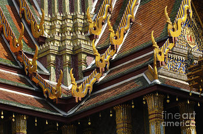 Photograph - Grand Palace Bangkok Thailand 2 by Bob Christopher