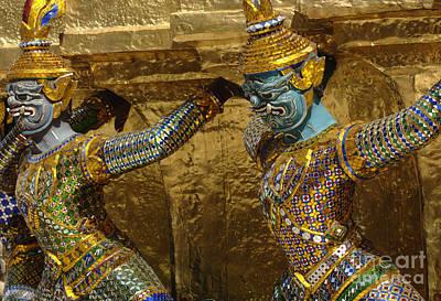 Photograph - Grand Palace Bangkok Thailand 3 by Bob Christopher