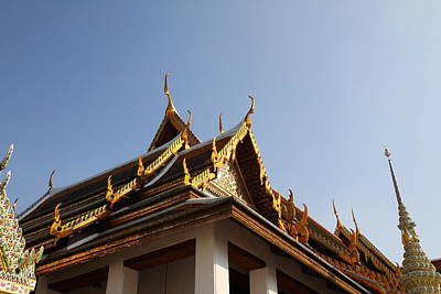 Bangkok Photograph - Grand Palace In Bangkok Thailand - 011336 by DC Photographer