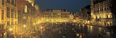 Belgium Photograph - Grand Place Brussels Belgium by Panoramic Images