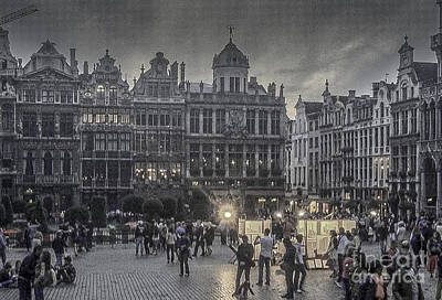 Photograph - Grand Place Bruxelles by Michael Canning