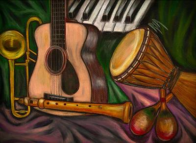 Musical Instruments Wall Art - Photograph - Grand Pop by Artist RiA