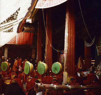 Photograph - Grand Prayer Festival In The Jokhang by First Star Art