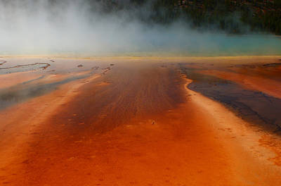 Photograph - Grand Prismatic Smoke Bomb 2 by Jon Emery