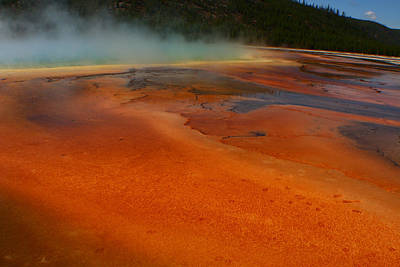 Photograph - Grand Prismatic Smoke Bomb 3 by Jon Emery