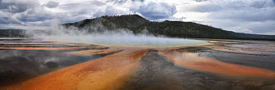 Photograph - Grand Prismatic Spring by Rob Hemphill