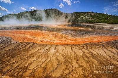 Photograph - Grand Prismatic Spring by Vishwanath Bhat