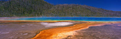 Grand Prismatic Spring, Yellowstone Art Print