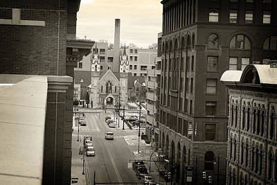 Photograph - Grand Rapids 10 - Sepia by Scott Hovind