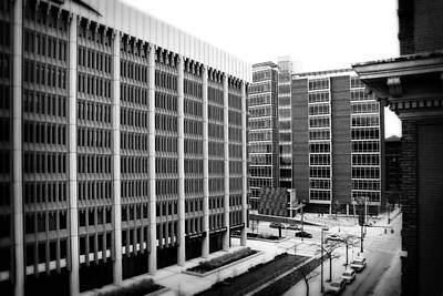 Photograph - Grand Rapids 11 Black And White by Scott Hovind