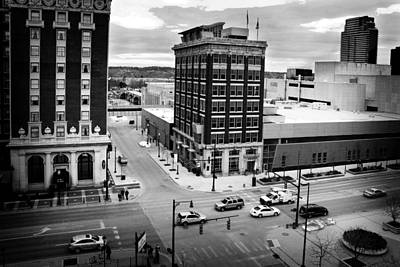 Photograph - Grand Rapids 12 Black And White by Scott Hovind