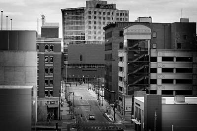 Photograph - Grand Rapids 18 Black And White by Scott Hovind