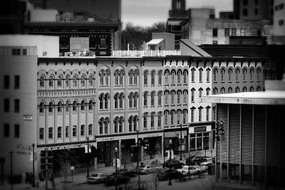 Photograph - Grand Rapids 19 Black And White by Scott Hovind