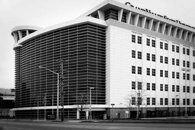 Photograph - Grand Rapids 2 - Black And White by Scott Hovind