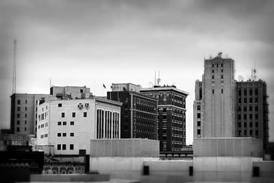 Photograph - Grand Rapids 22 Black And White by Scott Hovind