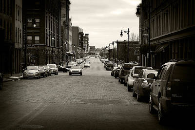 Photograph - Grand Rapids 25 Sepia by Scott Hovind