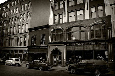 Photograph - Grand Rapids 26 Sepia by Scott Hovind