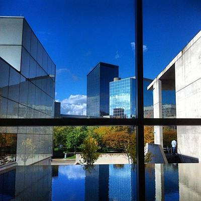 Art Print featuring the photograph Grand Rapids Museum Of Art by Toni Martsoukos