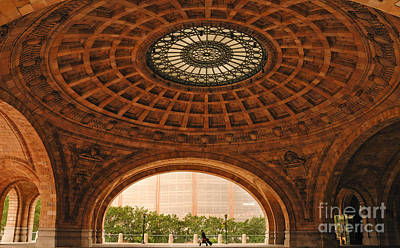 Train Station Photograph - Grand Rotunda Pennsylvanian Pittsburgh by Amy Cicconi