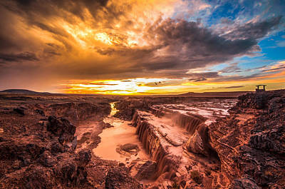 Photograph - Grand Sunset Storm by Stacy LeClair