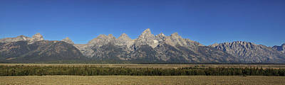 Photograph - Grand Teton Panorama by Alan Vance Ley