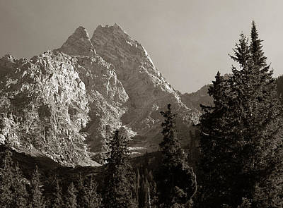 Photograph - Grand Teton by Michael Kirk