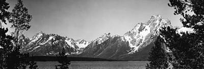 Teton Wall Art - Photograph - Grand Teton Mountains 1949 by Retro Images Archive