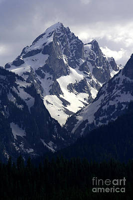 Photograph - Grand Teton National Park by E B Schmidt