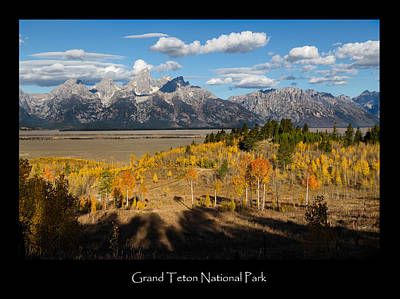 Photograph - Grand Teton National Park Poster by Kathleen Bishop