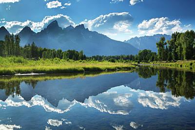 Photograph - Grand Teton National Park Snake River by Yinyang