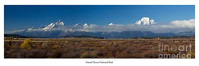 Jackson Hole Wall Art - Photograph - Grand Teton National Park by Twenty Two North Photography