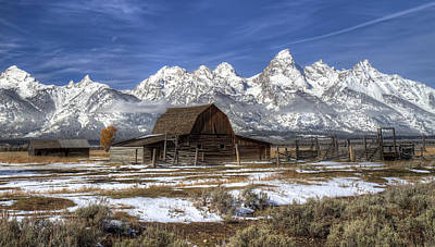 Photograph - Grand Teton National Park Wyoming by Pierre Leclerc Photography