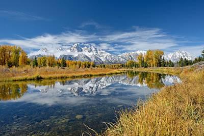 Grand Teton Reflection Original