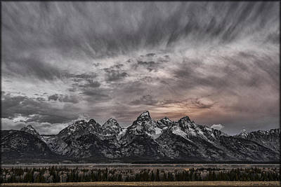 Photograph - Grand Teton Sunset by Erika Fawcett